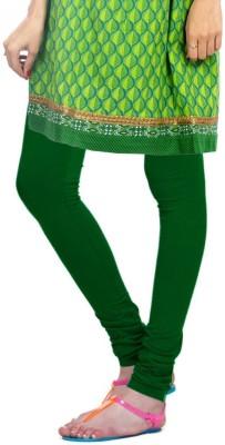 Desi Fusion Women's Dark Green Leggings