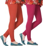 Blu Roller Women's Pink, Red Leggings (P...