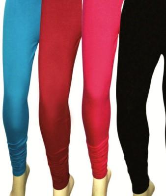 Aaradhyaa Women,s Black, Blue, Red, Pink Leggings