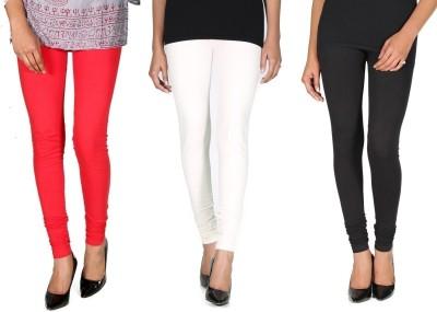 Ally Of Focker Women's Red, Black, White Leggings