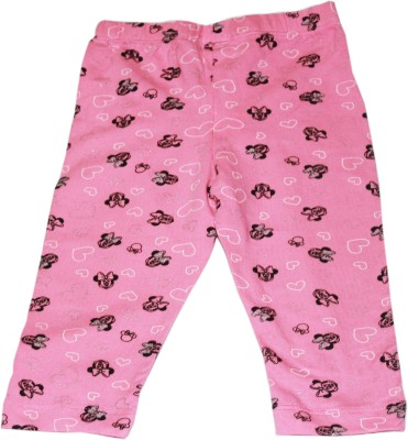 Bisbasta Baby Girl's Pink Leggings