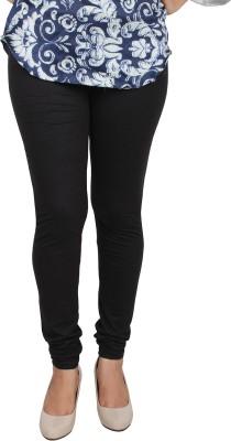 Shahfali Women's Black Leggings
