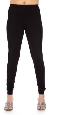 Rasi Silks Women's Black Leggings