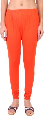 Shop & Shoppee Women's Orange Leggings