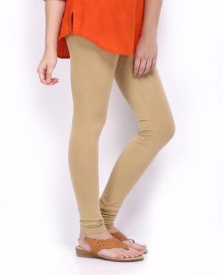 Cosmixstores Women's Beige Leggings