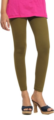 S Vaga Women's Dark Green Leggings