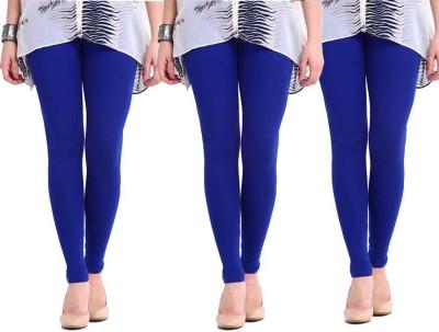 Sampoorna Collection Women's Blue, Blue, Blue Leggings
