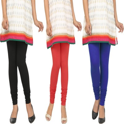 Agrima Fashion Women's Black, Red, Blue Leggings