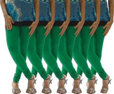 Escocer Women's Green Leggings