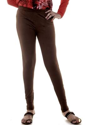 Menthol Girl's Brown Leggings
