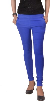 Ace Women's Blue Jeggings