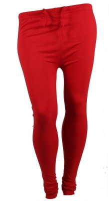 Larjjosa Women's Red Leggings