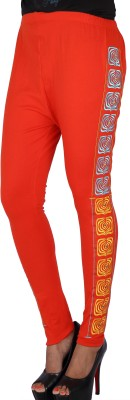 Gagrai Ecom Women's Orange Leggings