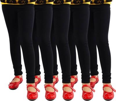 Escocer Women's Black Leggings