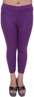 Snoby Women's Purple Leggings