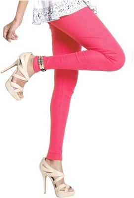Notyet By Us Women's Pink Leggings