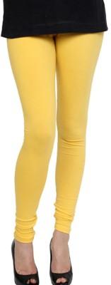 Pannkh Women's Yellow Leggings