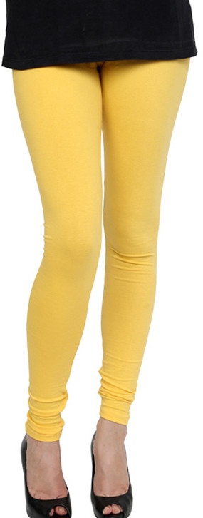 Pannkh Womens Yellow Leggings