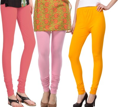 VENUSTAS Women's Pink, Orange, Gold Leggings