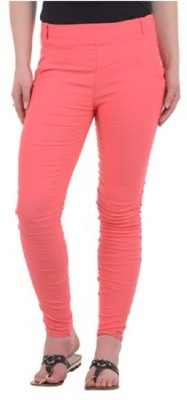 Kalki Fashion Women's Orange Jeggings