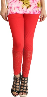 Lqqke Women's Red Leggings