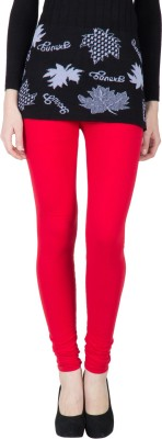 VERMELLO Women's Red Leggings