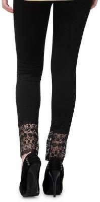 Aashish Fabrics Women's Black Leggings