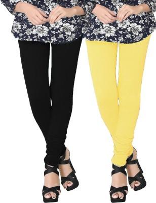 JV Wears Women's Black, White Leggings