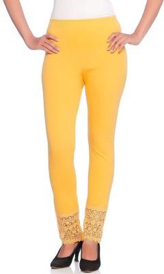 Vanita Women's Yellow Leggings