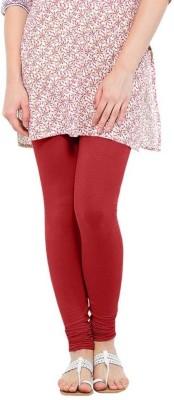 NEW TRENDS Women's Maroon Leggings