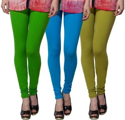 Both11 Women's Green, Light Blue, Light Green Leggings