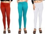 Comix Women's Orange, Green, White Leggi...