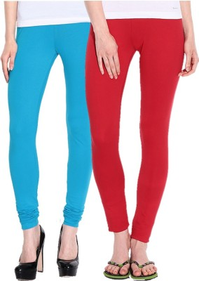 NGT Women's Light Blue, Red Leggings