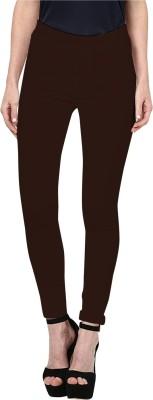 Triveni Women's Brown Leggings