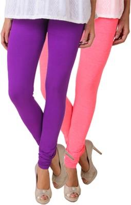 Fasense Women's Pink, Purple Leggings