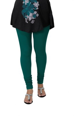 Ankita Women's Green Leggings