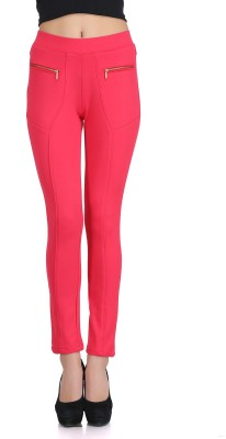 Ozel Studio Women's Red Jeggings