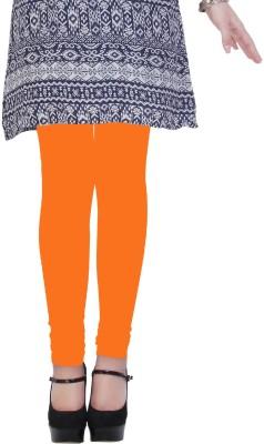 Kimayaa Women's Orange Leggings