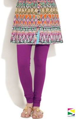 Shilimukh Women's Purple Leggings