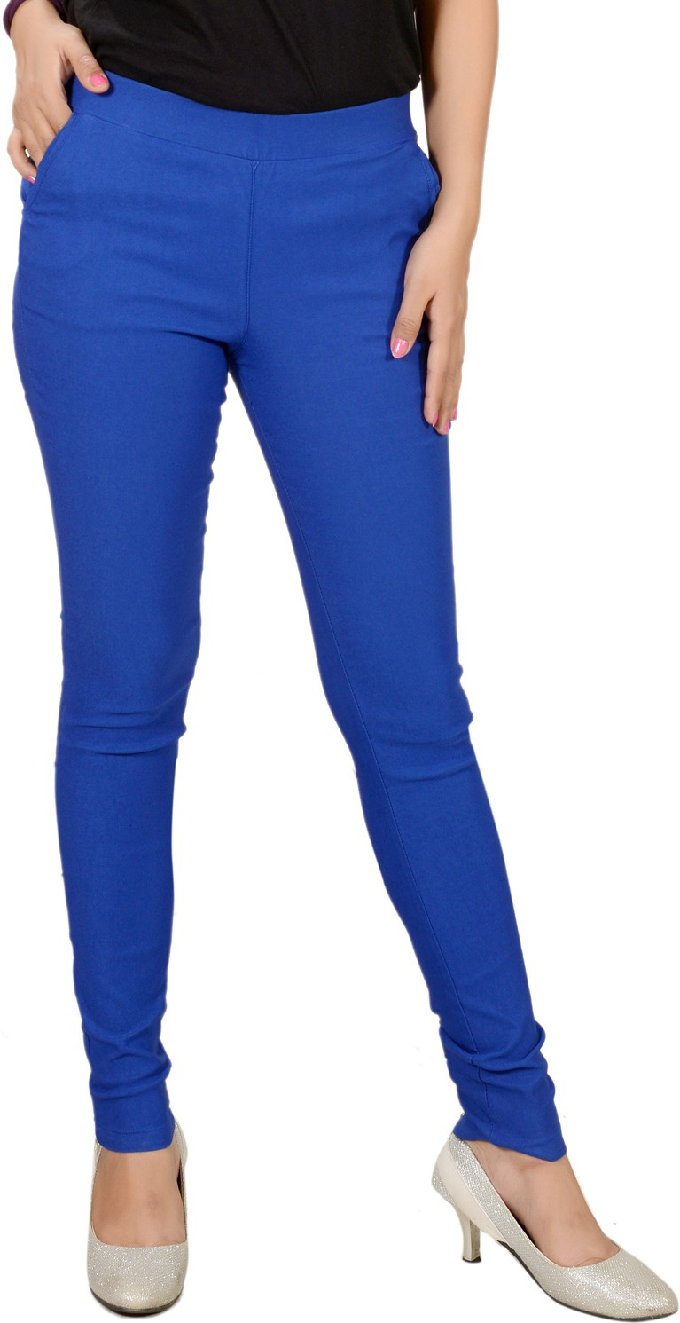 Pretty Angel Womens Blue Jeggings