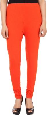 Trendline Women's Orange Leggings