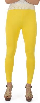Legrisa Fashion Women's Yellow Leggings