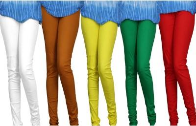 Pawan Tex Women's Multicolor Leggings