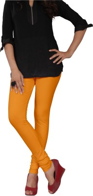 Leg Glance Women's Yellow Leggings