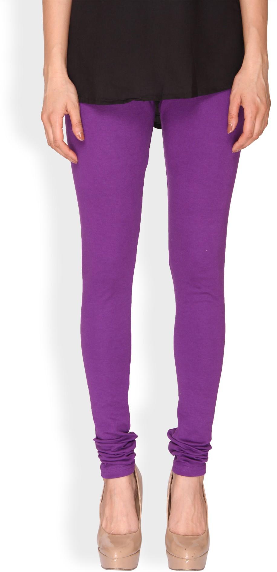 Ten on Ten Womens Purple Leggings
