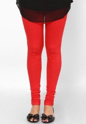 Libaas Women's Red Leggings