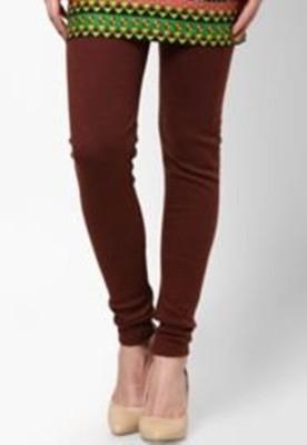Idesign Women's Brown Leggings