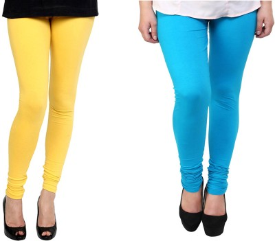 Kvell Be Proud Women's Yellow, Blue Leggings