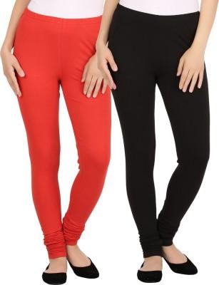 New tastemaker Women's Red, Black Leggings