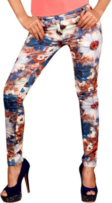 Vogue4all Women's Blue Jeggings